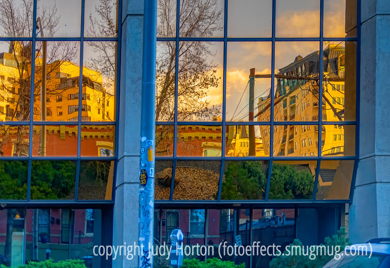 Reflections in Downtown Denver