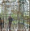 Self Portrait in a Mirrored Work of Art