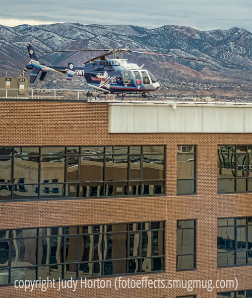 Hospital Helicopter