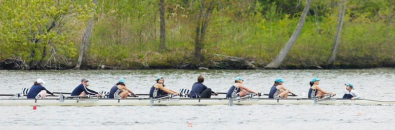 Saratoga novice girls 8 compete in Saturday's finals. Ed Burke 5/14/11