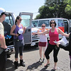 The meeting of the Vans! We were excited, and applying our temporary tattoos, and exchanging van information/logisitics