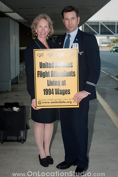 Day of Action at LAX, January 7, 2011