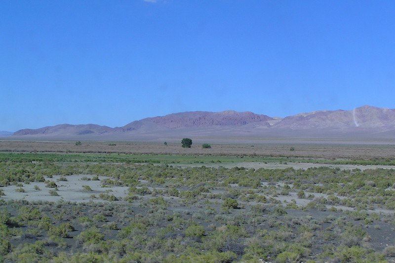North of Walker Lake Looking East