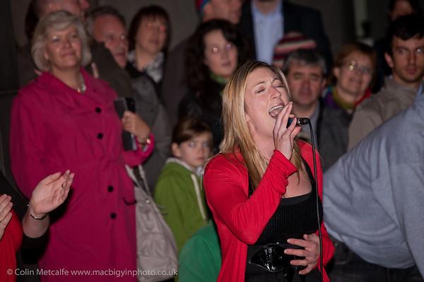 Belfast Community Gospel Choir at Belfast's Culture Evening, 24th Sept 2010