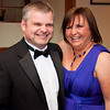 Mr & Mrs Nigel & Sharon McIlroy attend East Belfast Mission's Gala Ball in the Stormont Hotel.