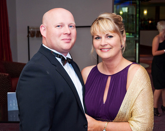 Mr & Mrs Roy & Gillian Kane attend East Belfast Missions Gala Ball at the Stormont Hotel