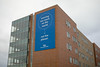 New branded banners on Abbott and Greiner halls<br /> <br /> Photographer: Douglas Levere