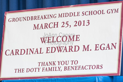 Resurrection Cardinal Egan & Doty Family Groundbreaking