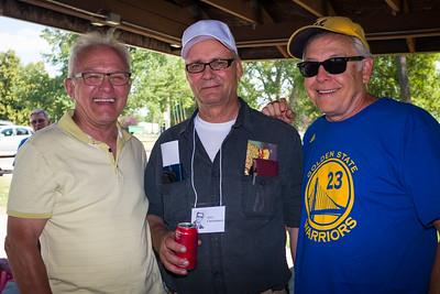 Mike (Ben) Herr, Jerry Christianson, Steve Fossum