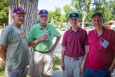 Lee Tangedahl, Doug Wick, Lowell Elhard, Dave Solheim