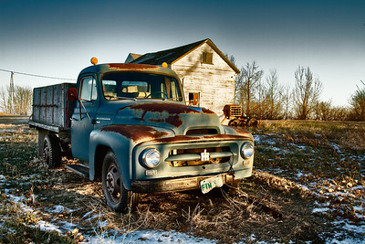 'Rust and Memories' - One of my favourite's from my recent jaunt to the Hicks Family farm in Saskatchewan