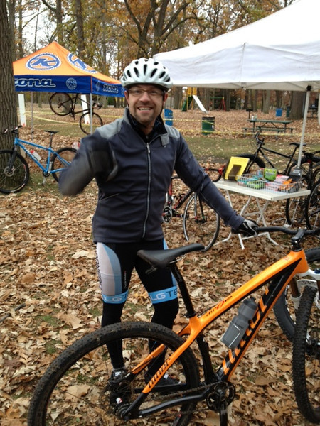 Hallow Cross Race - Sarnia October 27th, 2012<br /> Jean-Yves before the start