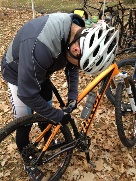 Hallow Cross Race - Sarnia October 27th, 2012<br /> Seat was too low, it slowed him down!