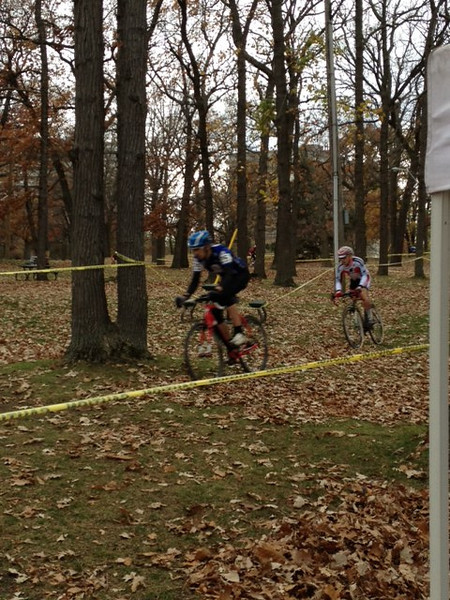 Hallow Cross Race - Sarnia October 27th, 2012<br /> 1st lap, position 1 and 2