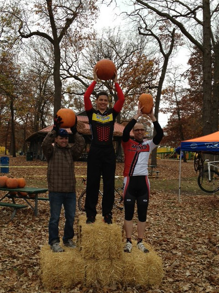 Hallow Cross Race - Sarnia October 27th, 2012<br /> Senior 3 podium