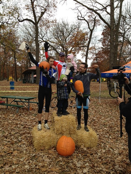 Hallow Cross Race - Sarnia October 27th, 2012<br /> Overall Podium