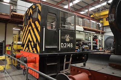 0-6-0DM Class 03 D2148  26/07/14.
