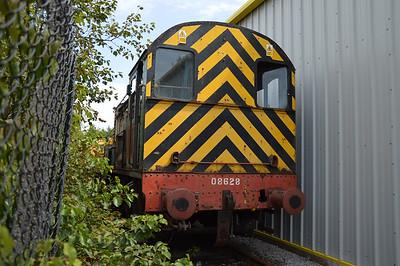 0-6-0DE Class 08 08628  26/07/14.