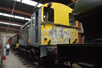 0-6-0DE Class 600 No663  26/07/14.
