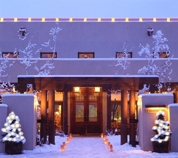 Fechin Winter Exterior