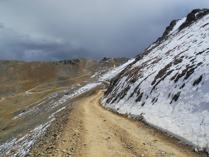 The path from Hurricane Pass to California Gulch in Colorado can be treacherous and wonderful during any storm.