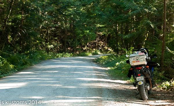 ride to snowqualmie pass 9-13-2014