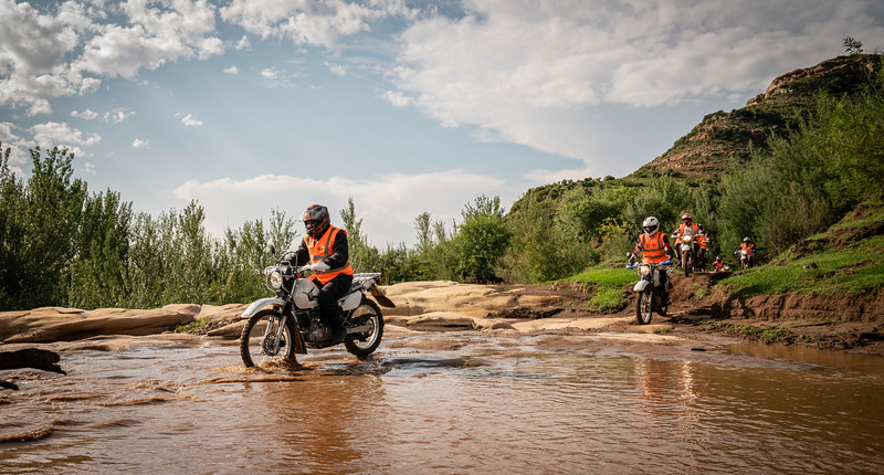 Two Wheels for Life helps train technicians to maintain the motorcycles used to provide healthcare in remote regions