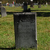 "Notice it says ""murdered"" on the tomb stone"