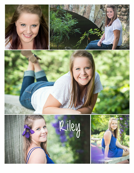 Riley collage
