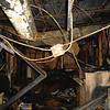 BEFORE: Inside the WOC office that was destroyed by a fire on February 15, 2008.
