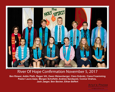 River Of Hope Confirmation 2017