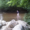 Capturing the stream conditions prior to any work.  A full catalogue of photos is on our servers.