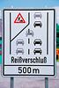 Zipper Merge in Germany