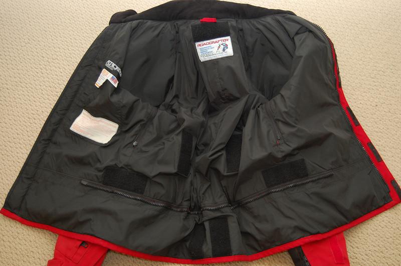 Roadcrafter jacket size 44L inside