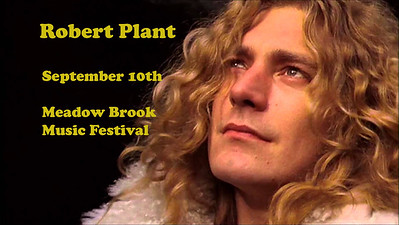 Robert Plant at Meadow Brook