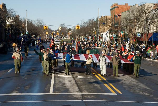 Rochester Xmas Parade 2008