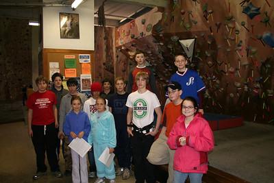 Rock Climbing - February, 2006