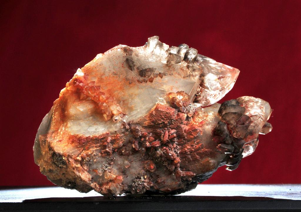 Q-M-10 Quartz & Malachite    Origin: Zacatecas, Mex