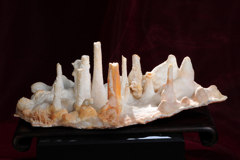 S-80  Stalactites (Aragonite)   Origin: Mt. Home, Ark.