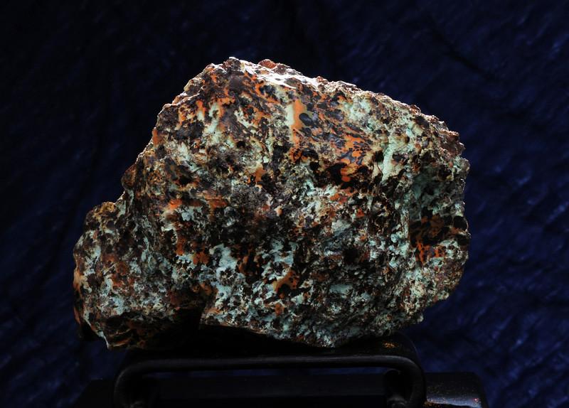 Q-12  Obsidian    Origin: Zacatecas, mex.