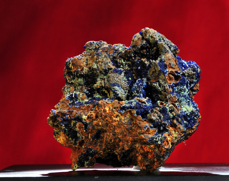 A-21 Azurite  Origin: Zacatecas, Mx