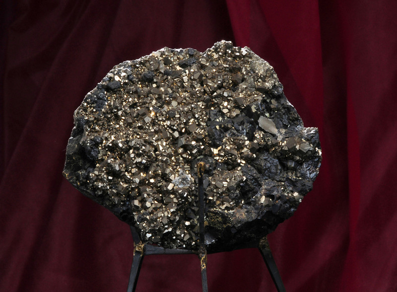 P-3  Pyrite on matrix