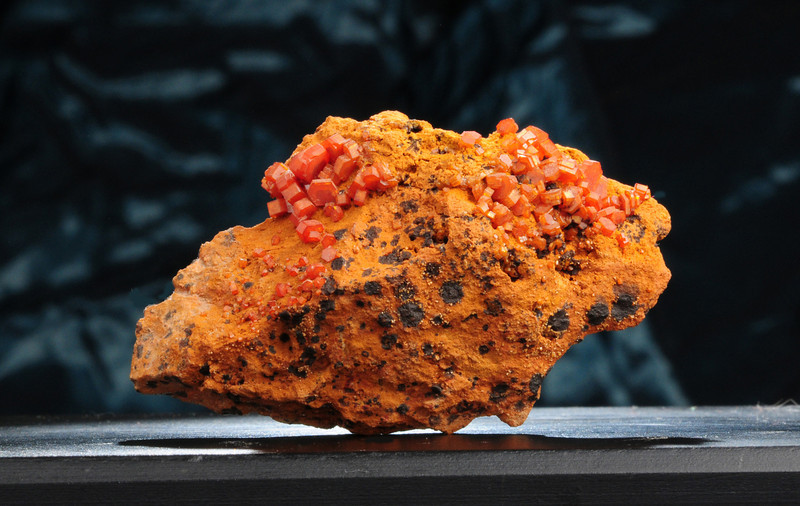 V-3 Vanadinite    Origin: Mibladen, Morocco