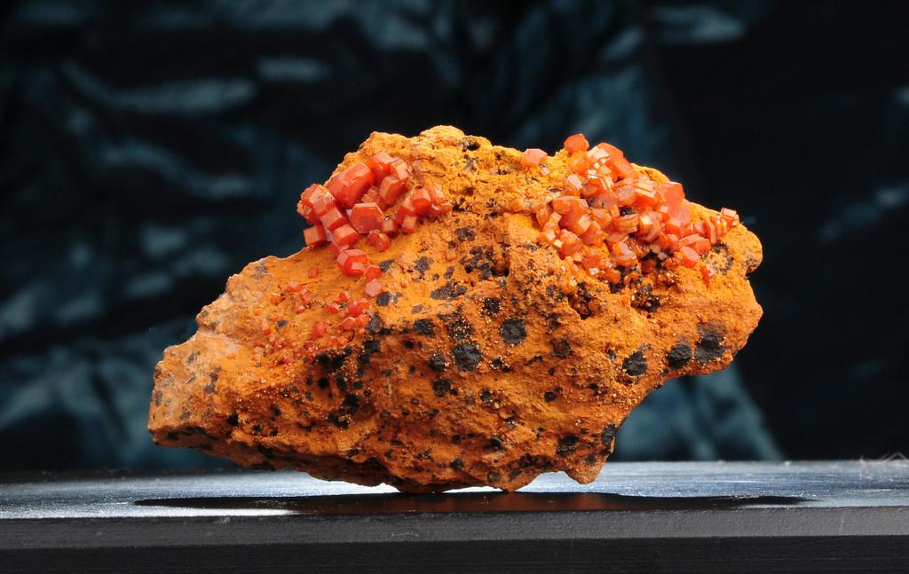 V-3 Vanadinite    Origin: Mibladen, Morocco