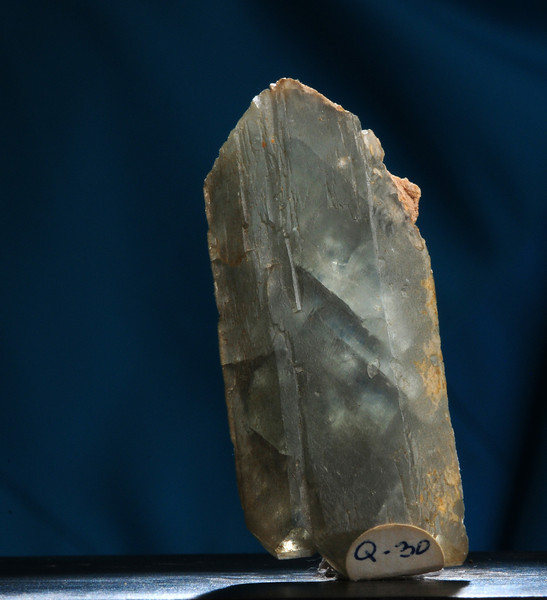 Q-30  Smoky Quartz    Origin: Switzerland