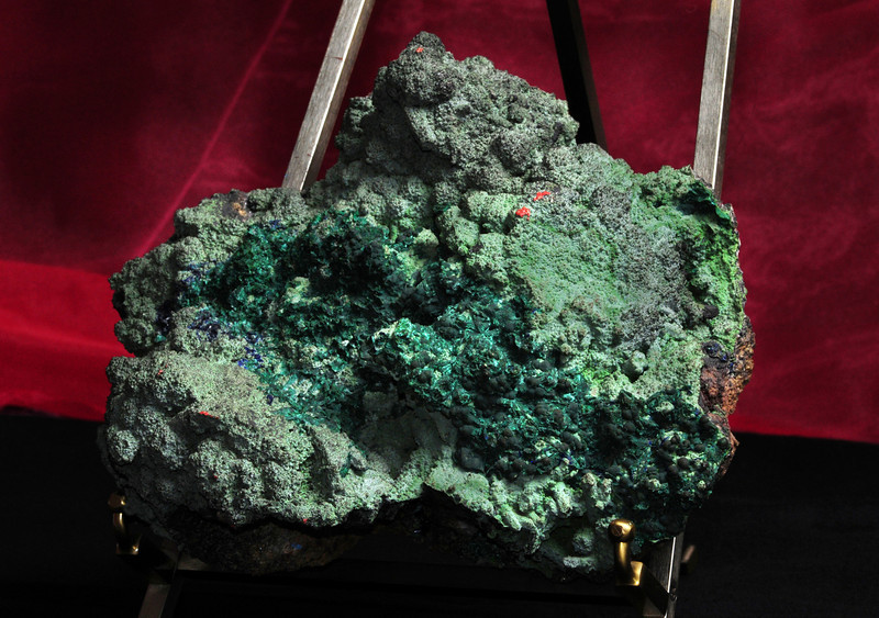 M-A-1  Malachite & Azurite   Origin: Zacatecas, Mex