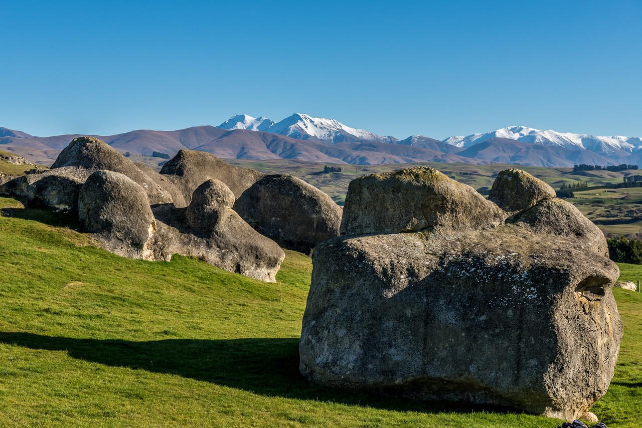 Elephant Rocks and the St Marys Range