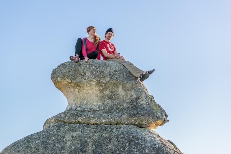 At Elephant Rocks
