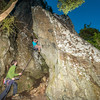 47. Chase Gatland on a semi-nocturnal ascent of The Stronghold's prow (24); Gonzalo Nido on belay