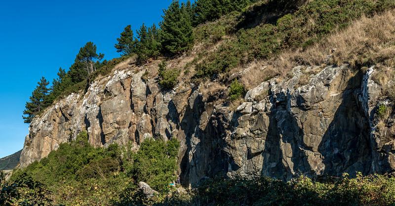 1. Mapoutahi rock climbing crag